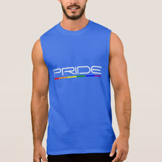 Stolz färbt Gay Pride Ärmelloses Shirt