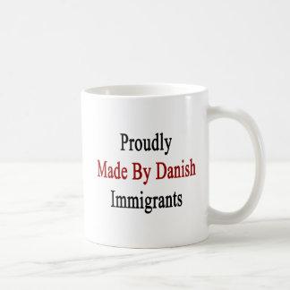 Stolz gemacht durch dänische Immigranten Kaffeetasse