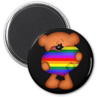 Stolz-Herz-Teddybär Magnets