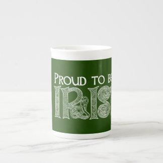 Stolz, irisch zu sein, celtic-Knoten St. Patricks Porzellantasse