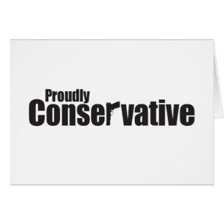 Stolz Konservativer Karte