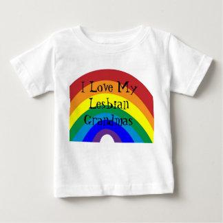 Stolz: Liebe I meine Großmütter Baby T-shirt