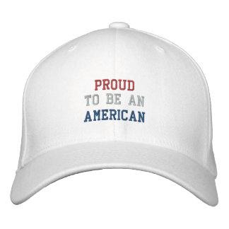 STOLZ SEIN AMERIKANISCH BESTICKTE CAPS