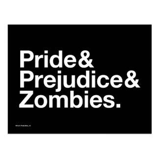 Stolz u. Predjudice u. Zombies Postkarte