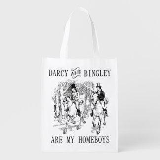 Stolz u. Taschentasche Vorurteil-Herrn Darcy u. Tragetaschen