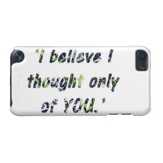 Stolz-und Vorurteil-Zitat iPod Touch 5G Hülle