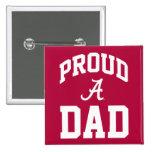 Stolze Alabama-Familie - Dunkelheit Quadratischer Button 5,1 Cm