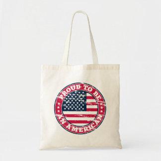 Stolze amerikanische Taschen-Tasche Tragetasche