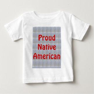 Stolze amerikanische Ureinwohner Baby T-shirt