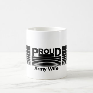Stolze Armee-Ehefrau Kaffeetasse