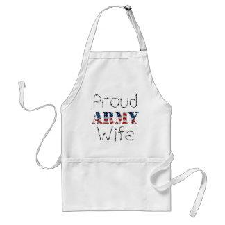Stolze Armee-Ehefrau Schürze