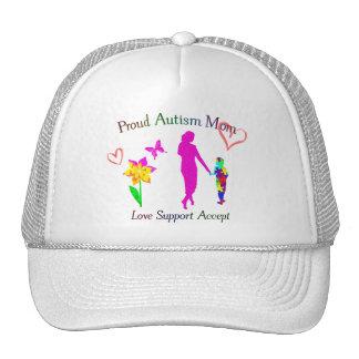 Stolze Autismus-Mamma Baseball Kappen