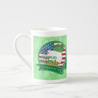 Stolze irische amerikanische Tee-Schale Porzellantasse