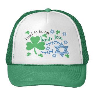 Stolze irische Jude-Hüte Truckermützen