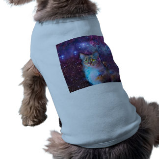 Stolze Katze mit Raum-Hintergrund Top