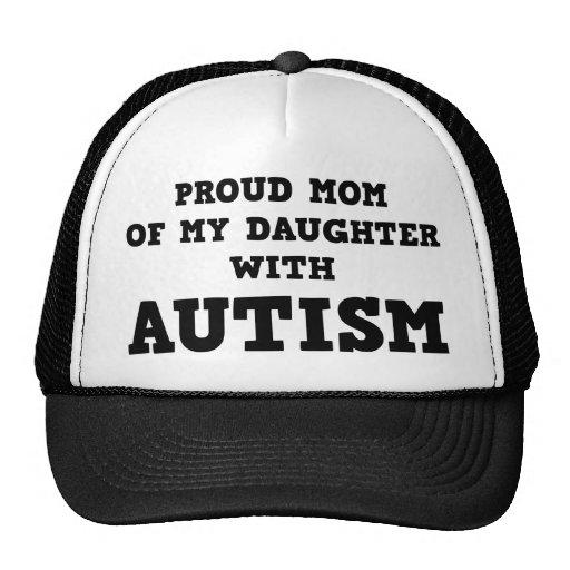 Stolze Mamma meiner Tochter mit Autismus Baseball Kappen