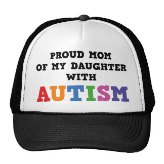 Stolze Mamma meiner Tochter mit Autismus Retrokappen