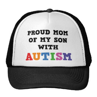 Stolze Mamma meines Sohns mit Autismus Retrokappen