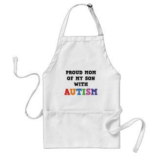 Stolze Mamma meines Sohns mit Autismus Schürze