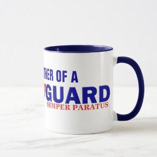 Stolze Mutter-Küstenwache-Kaffeetasse Tasse