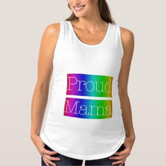 Stolze Mutter Rainbow Maternity Tank