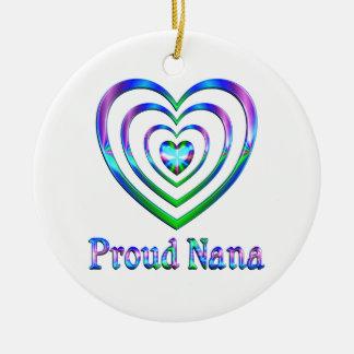 Stolze Nana-Herzen Keramik Ornament