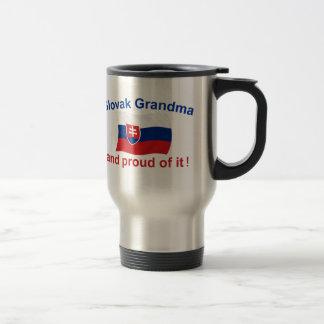 Stolze slowakische Großmutter Reisebecher