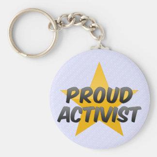 Stolzer Aktivist Schlüsselbänder