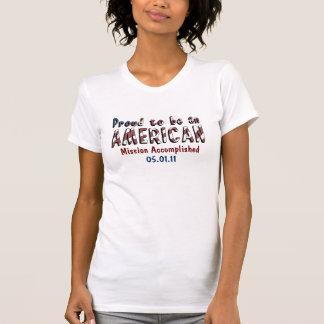 Stolzer Amerikaner Osama bin Laden tot T-Shirt