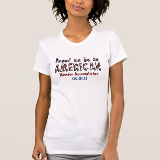 Stolzer Amerikaner Osama bin Laden tot T-Shirts