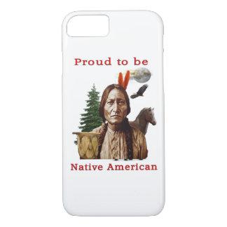stolzer amerikanischer Ureinwohner iPhone 8/7 Hülle