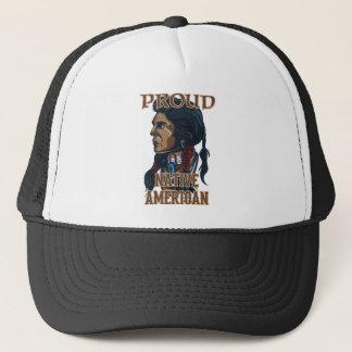 Stolzer amerikanischer Ureinwohner Truckerkappe