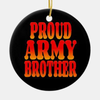 Stolzer Armee-Bruder in den Prächtigen Farben Keramik Ornament