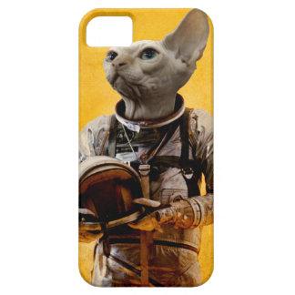Stolzer Astronaut iPhone 5 Etuis