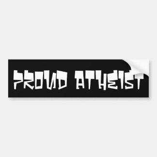 Stolzer Atheist Autoaufkleber