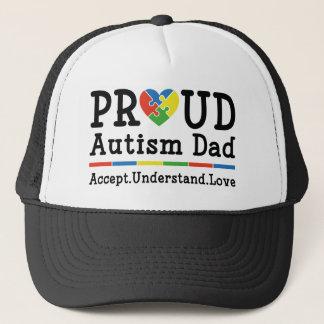 Stolzer Autismus-Vati Truckerkappe
