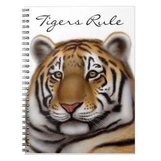 Stolzer bengalischer Tiger-kundengerechtes Notizblock