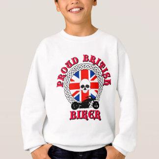 Stolzer britischer Radfahrer Sweatshirt