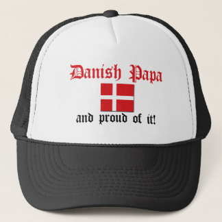Stolzer dänischer Papa Truckerkappe