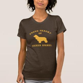 Stolzer Elternteil Cockerspaniel-T - Shirt