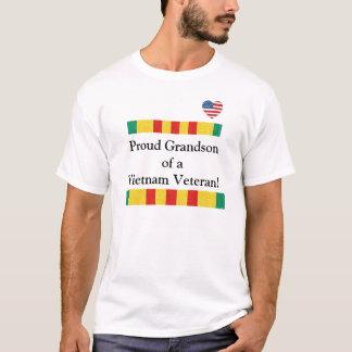 Stolzer Enkel eines Vietnam-Veteranen-T - Shirt