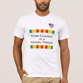 Stolzer Enkel-Vietnam-Veteranen-T - Shirt