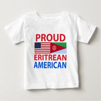 Stolzer eritreischer Amerikaner Baby T-shirt