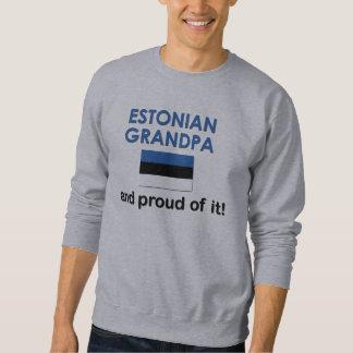 Stolzer estnischer Großvater Sweatshirt