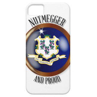 Stolzer Flaggen-Knopf Connecticuts iPhone 5 Schutzhüllen
