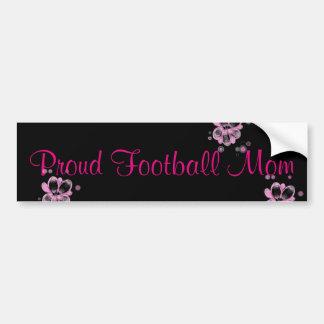 Stolzer Fußball-Mamma-Autoaufkleber Autoaufkleber