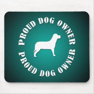 Stolzer Hundebesitzer Mauspad