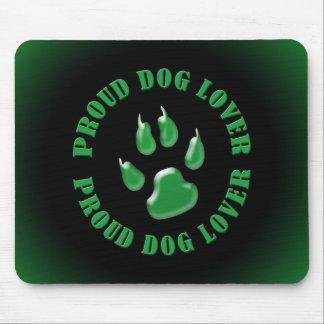 Stolzer Hundeliebhaber Mauspads