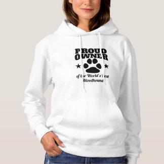Stolzer Inhaber des besten Bluthundes der Welt Hoodie