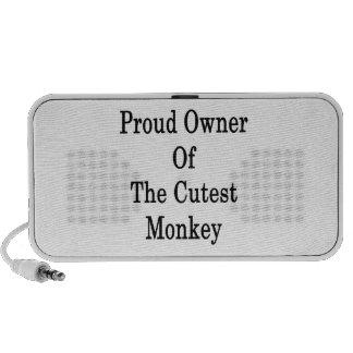 Stolzer Inhaber des Cutes-Affen Tragbare Speaker